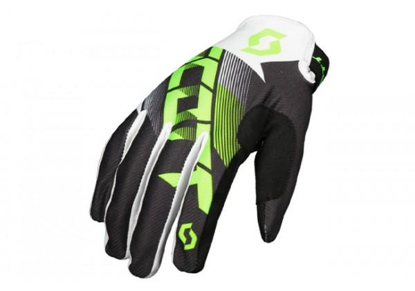 MANUSI SCOTT 350 Dirt Glove, NEGRU/VERDE, M