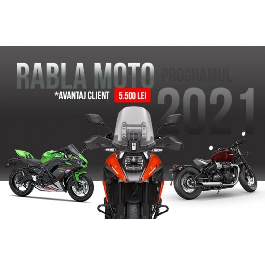 Programul Rabla Moto 2021