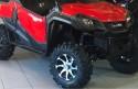 Jante ATV ITP TWISTER 14X7 4/110 NEGRU/ARGINTIU DREAPTA
