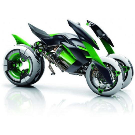 Kawasaki pregătește un triciclu cu hidrogen
