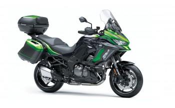 Kawasaki Versys SE vine în 2021 cu suspensii electronice Showa Skyhook