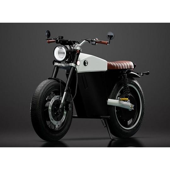 Ox One – café racer cu motor electric