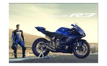 Yamaha R7 2022 - primele imagini s-au scurs pe internet