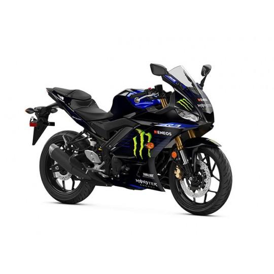 Yamaha lansează ediția specială YZF-R3 2021 Monster Energy MotoGP