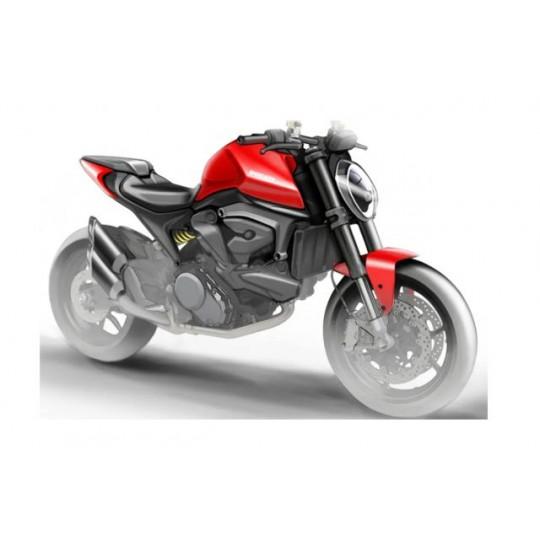 Ducati Monster 821 – viitorul model renunță la cadrul consacrat