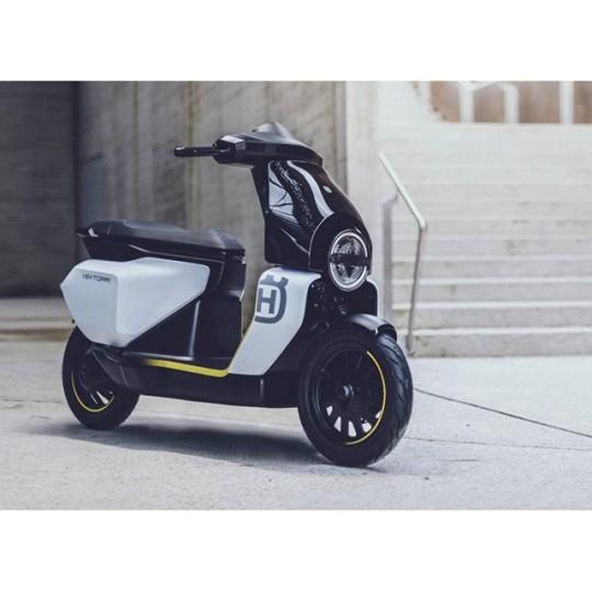 Husqvarna Vektorr – conceptul unui scuter electric cu design atractiv
