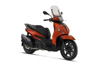 Piaggio Beverly 300 și 400 2021 – noi motoare, noi versiuni