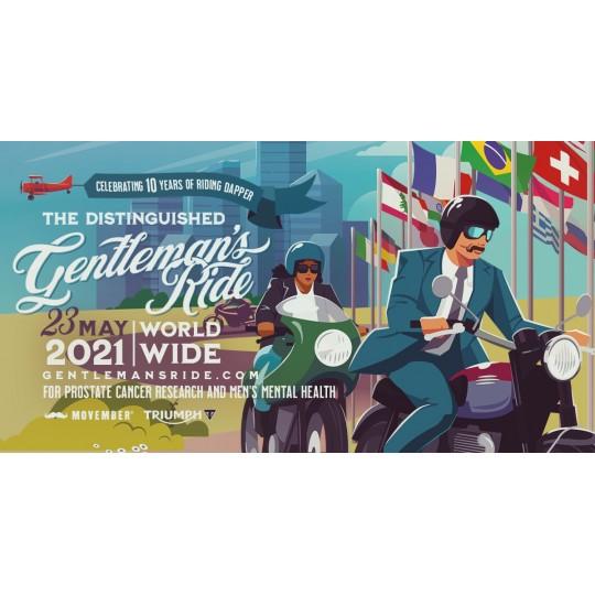 Triumph România este partener la a 10-a ediție Distinguished Gentleman's Ride