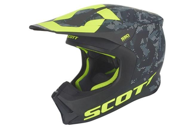 Casca Scott 550 CAMO ECE