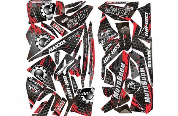 Set stickere colantare ATV CanAm Renegade 1000 XXC