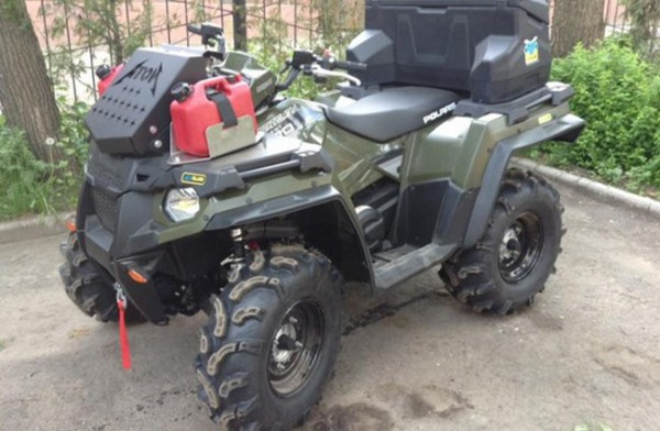 Overfendere ATV  Polaris Sportsman Touring 570