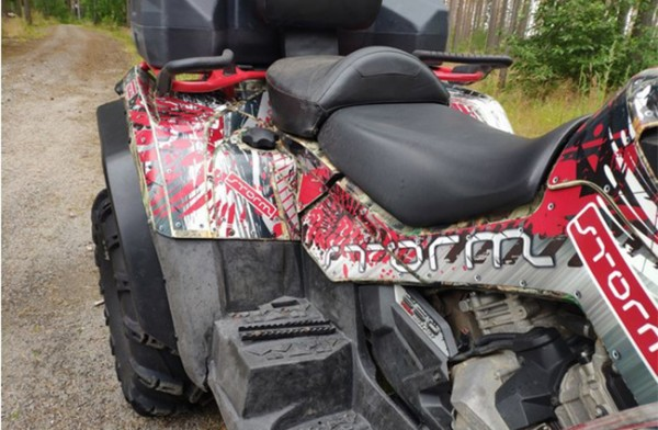 OVERFENDERE CAN-AM ATV OUTLANDER G1 MAX