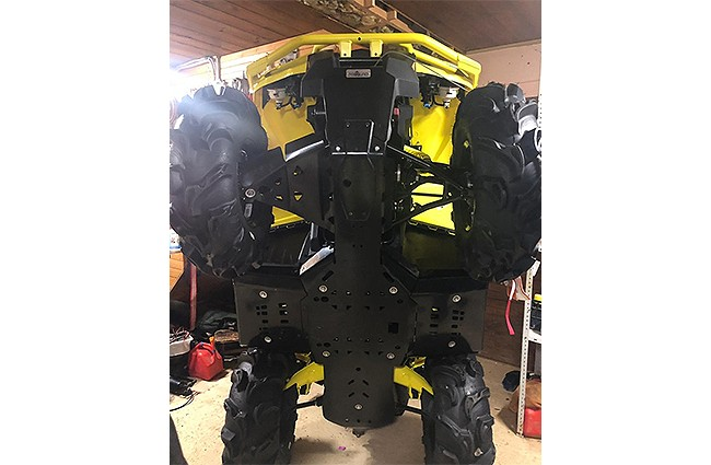 SCUT PROTECTIE ATV FULL KIT PLASTIC CAN-AM G2 OUTLANDER 2019+