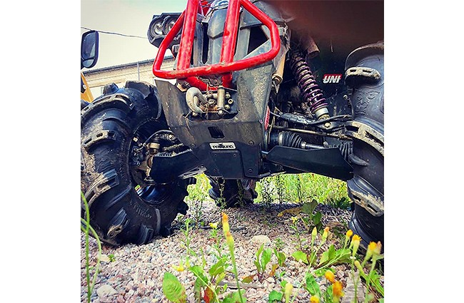 SCUT PROTECTIE ATV FULL KIT PLASTIC CAN-AM G2 RENEGADE 2019+