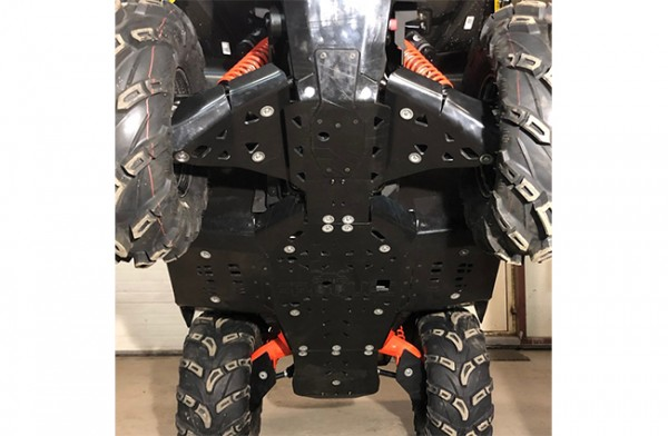 SCUT PROTECTIE ATV FULL KIT PLASTIC CAN-AM G2 L 2017+