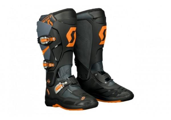 GHETE SCOTT MX 550 gri/portocaliu neon