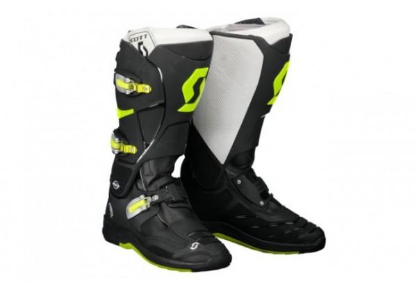 GHETE SCOTT MX 550 negru/verde