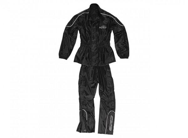 Set AXO New Oxford (Jacheta + Pantaloni) Negru XL