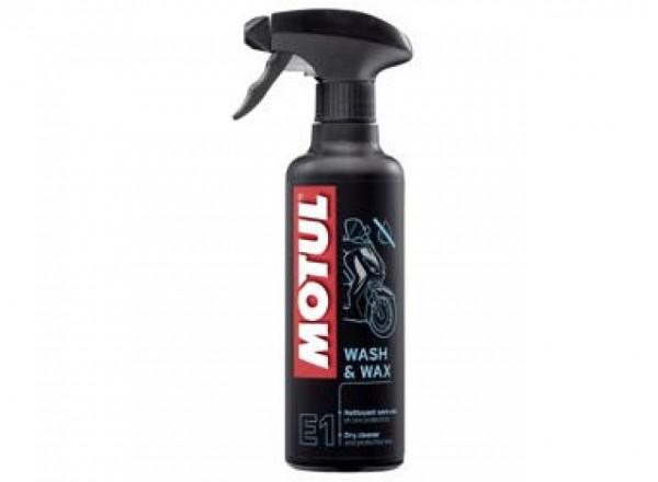 Spray Motul E1 Wash & Wax 400 ML