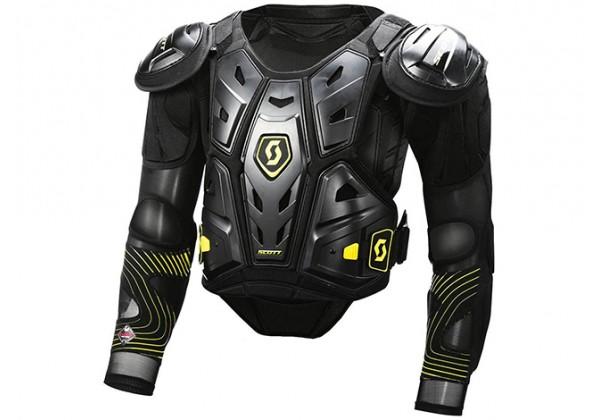 Protectie SCOTT Commander 2, negru/verde, L